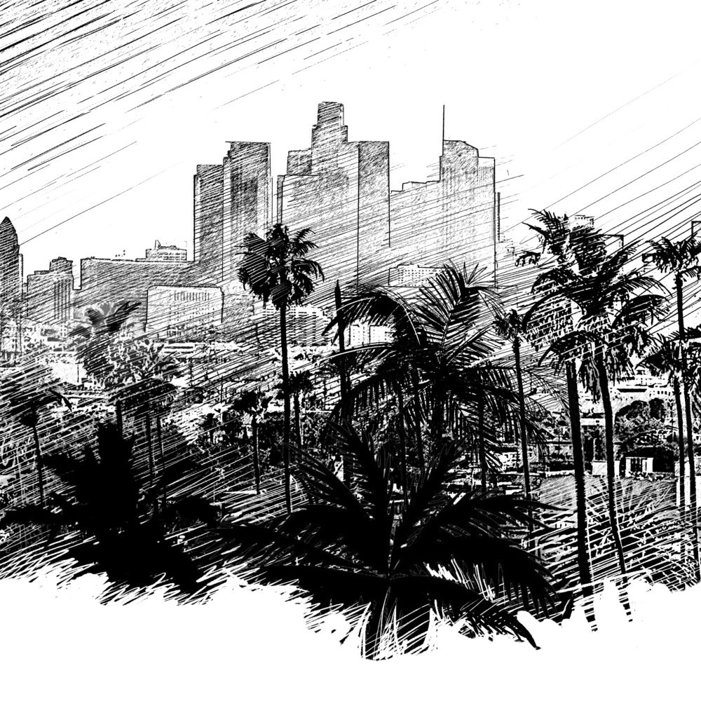 Los Angeles Sketch
