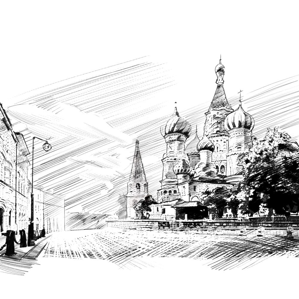 Moscow Sketch