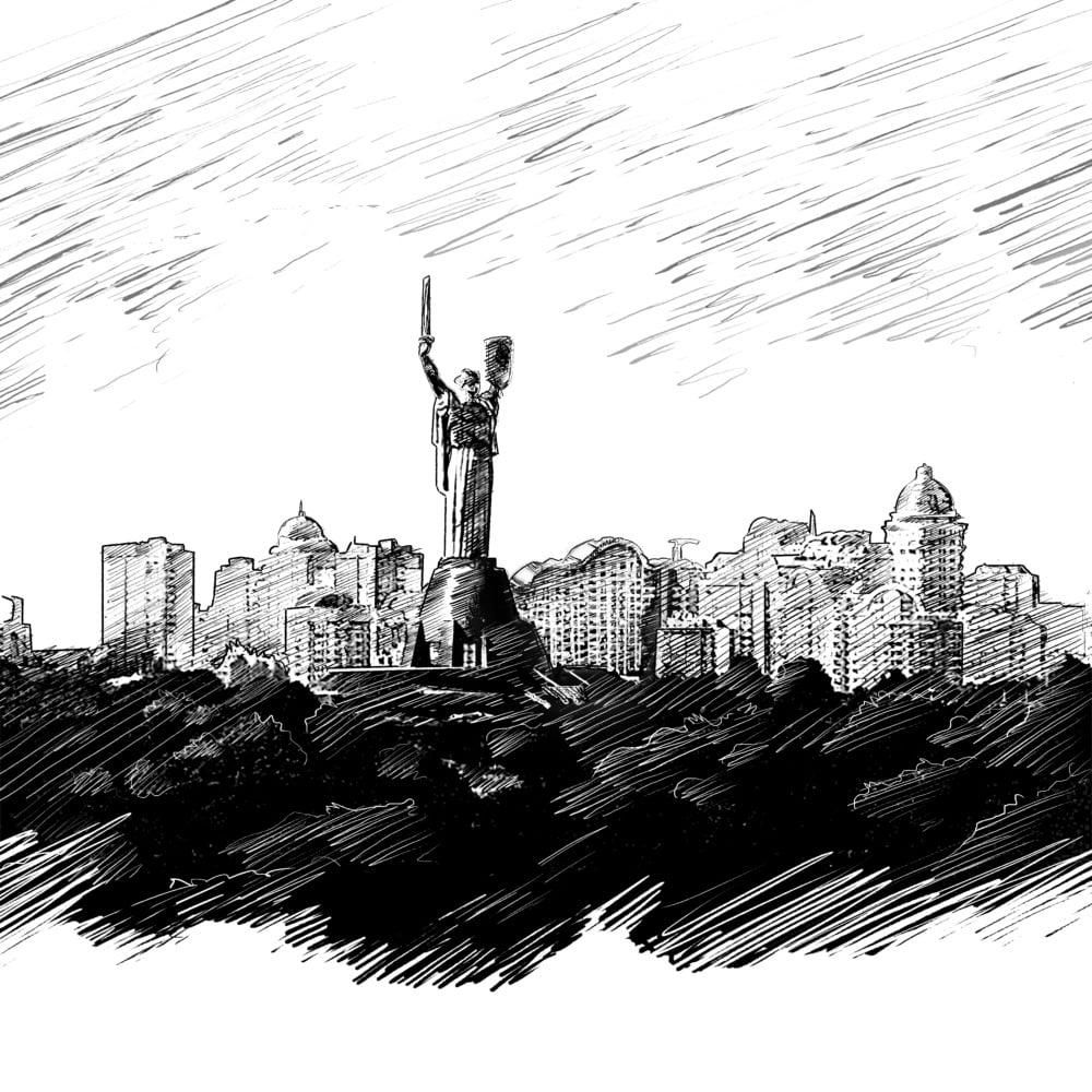 Kiev Sketch