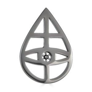 Oculus Dei Steel Pin - Front